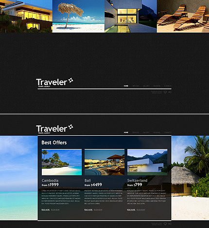 MotoCMS Flash Template #36257
