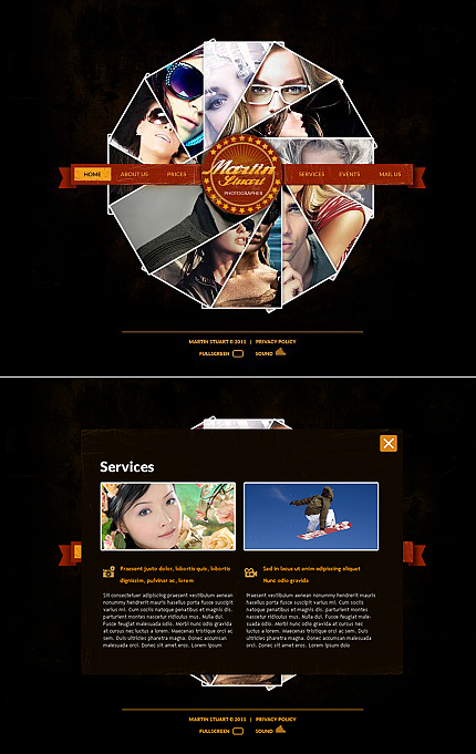 MotoCMS Flash Template #36323