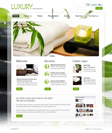 MotoCMS Flash Template #37174