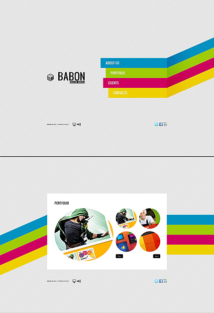 MotoCMS Flash Template #40631