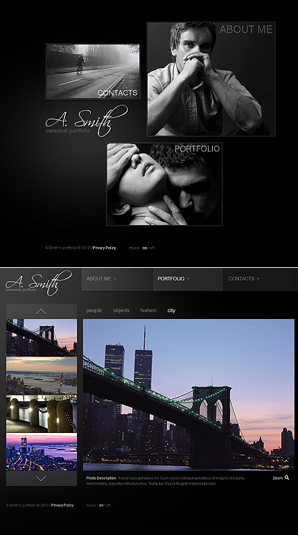 MotoCMS Flash Template #40982