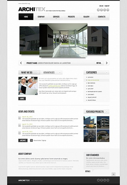 MotoCMS Flash Template #41384