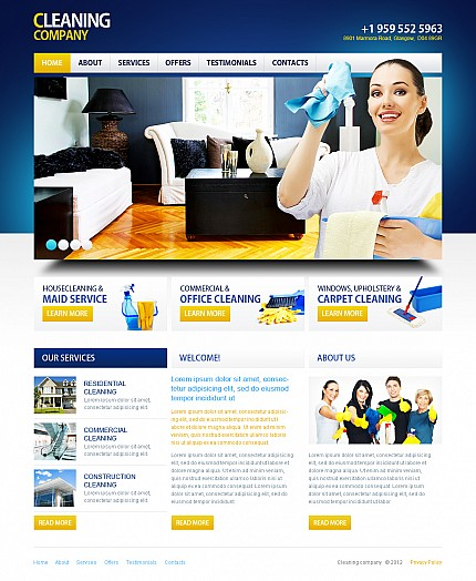 MotoCMS Flash Template #41389