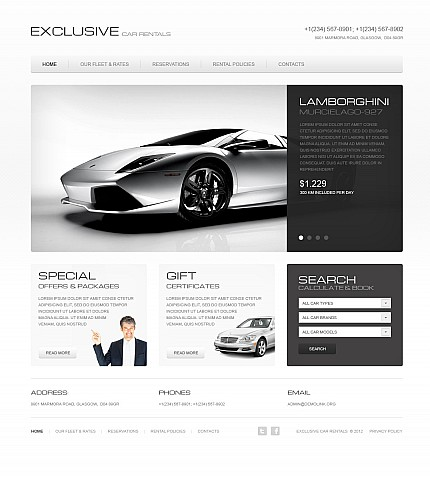MotoCMS Flash Template #41399