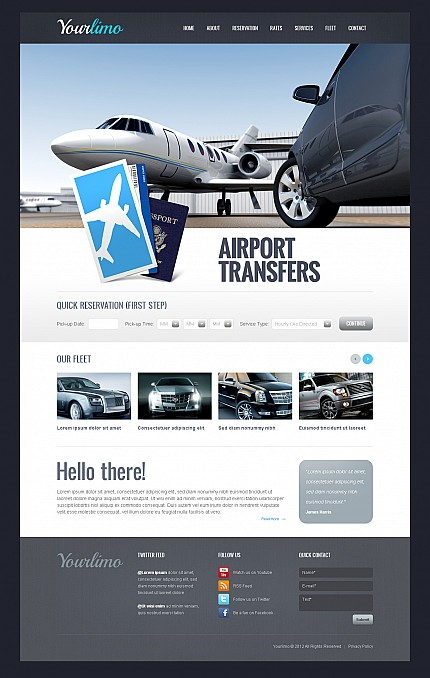 MotoCMS Flash Template #44123