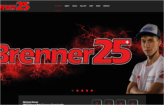 Brenner #25 MotoCMS-based Website