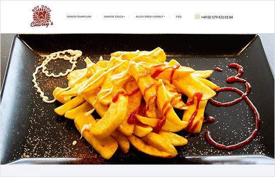 Charlys HotDogs MotoCMS-based Website