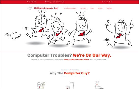 Chilliwack Computer Guy MotoCMS-based Website
