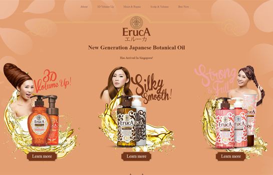 Eruca MotoCMS-based Website