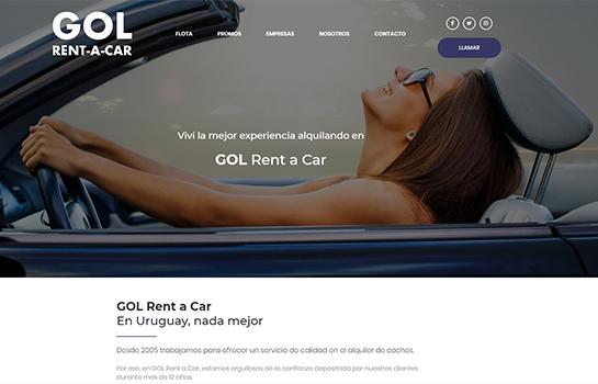 GOL Rent a Car MotoCMS-based Website