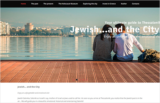 Jewish... and the City! MotoCMS-based Website