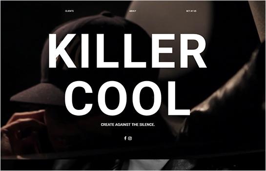 killer.cool MotoCMS-based Website
