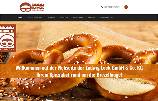 Ludwig Lock GmbH & Co. KG MotoCMS-based Website