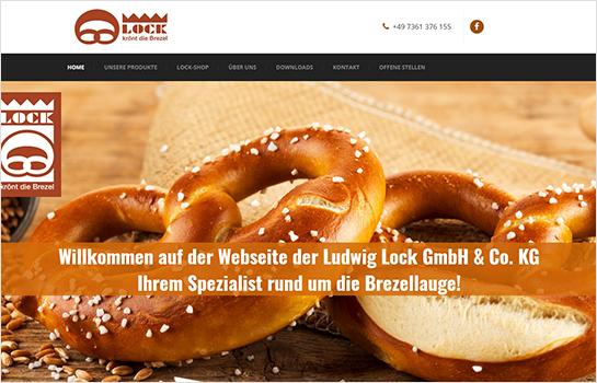 Ludwig Lock GmbH & Co. KG MotoCMS-based Website