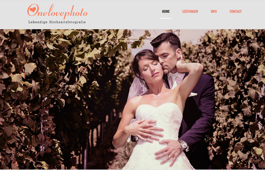 One Love Photo MotoCMS-based Website