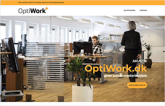 OptiWork MotoCMS-based Website