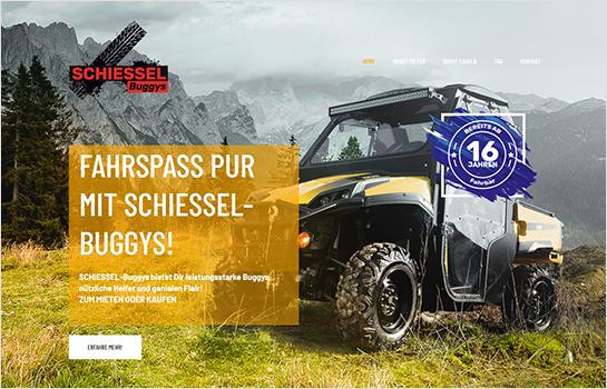 Schiessel-Buggys MotoCMS-based Website