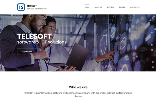 TELESOFT MotoCMS-based Website