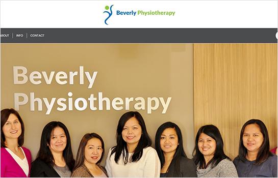 Beverly Physiotherapy Winnipeg MotoCMS-based Website
