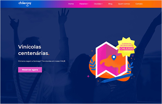 Сhilenjoy MotoCMS-based Website
