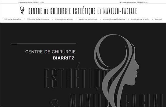CENTRE de CHIRURGIE ESTHÉTIQUE et MAXILLO-FACIALE MotoCMS-based Website