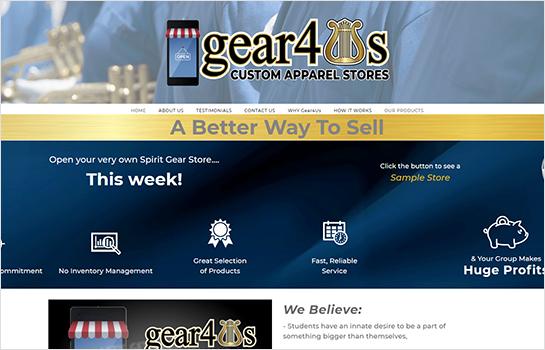 gear4us MotoCMS-based Website