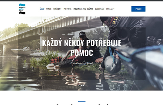 MP Mělník MotoCMS-based Website