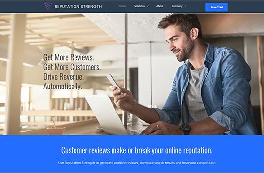 Reputation Strength MotoCMS-based Website