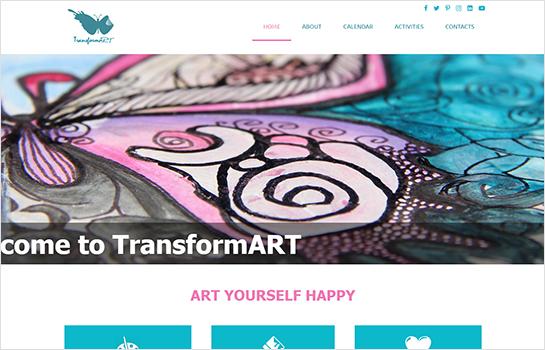 TransformART MotoCMS-based Website