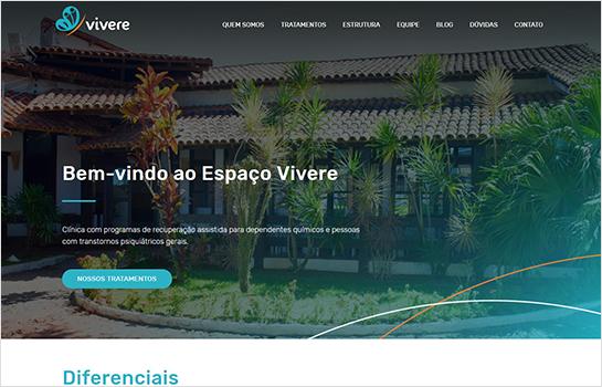 Espaço Vivere MotoCMS-based Website